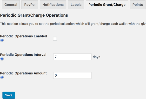 Automatically Adding Points to Users Wallets