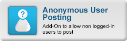 Online demo of Anonymous User Posting - Add-On to allow non logged-in users to post