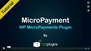 CM Micropayment Integration with EDD