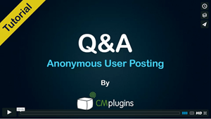 How to allow Anonymous users to post Questions and Answers in your WordPress Q&A forum Tutorial